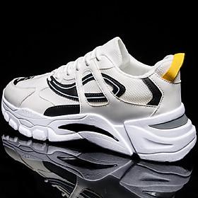 Men's Breathable Colorblock Low Heel Joker Running Shoes