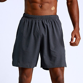 Men Sport Shorts Fitness Running Breathable Mesh Sports Wear Elastic Drawstring Pockets Loose Fit Casual Shorts