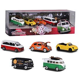 Bộ Đồ Chơi Trẻ Em 5 Xe Mô Hình Majorette Volkswagen 5 Pieces Giftpack - 212057615