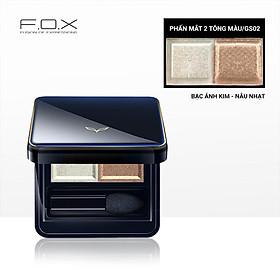 [TAIWAN] Phấn Mắt 2 Tông Màu F.O.X Eyeshadow Palette 3.2g