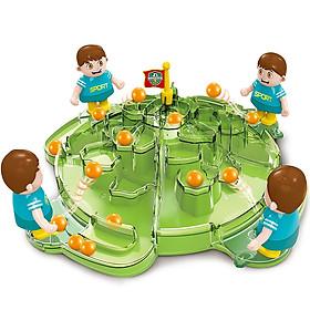 Đồ chơi bóng lăn KAVY bằng nhựa nguyên sinh an toàn tăng tương tác giữa cha mẹ và con cái