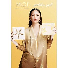 SET 5 BEAUTIFUL SON THỎI MINI GOLDEN GIFT M.O.I