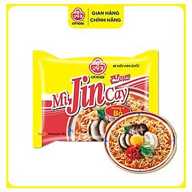 Combo 6 gói Mì Jin Cay Ottogi Mini (80g)
