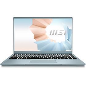 Laptop MSI Modern 14 B11MO-010VN (Core i7-1165G7/ 8GB DDR4 3200MHz/ 512GB PCIe NVMe/ 14 FHD IPS/ Win10) - Hàng Chính Hãng