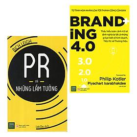 Combo Marketing 4.0: Branding 4.0 + PR Và Những Lầm Tưởng (Tặng Kèm 1 Cuốn 24/8 - Để Dẫn Đầu Trong Mọi Cuộc Đua)