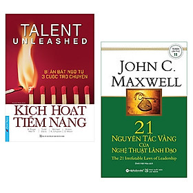Combo 2 cuốn sách lãnh đạo: Kích Hoạt Tiềm Năng – Bí Ẩn Bất Ngờ Từ 3 Cuộc Trò Chuyện + 21 Nguyên Tắc Vàng Của Nghệ Thuật Lãnh Đạo