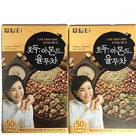 Combo 2 hộp Bột ngũ cốc Damtuh Hàn Quốc 50 gói x 18g