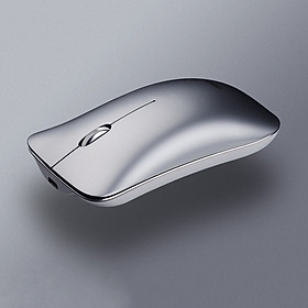 Chuột Không Dây Sạc Điện Inphic PM9 - Hàng Chính Hãng  - Space Silver (Bạc)