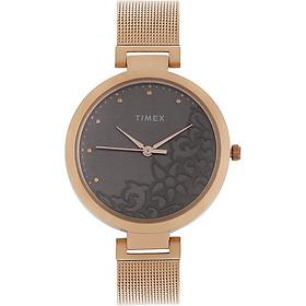 Đồng hồ Nữ Dây Kim Loại Timex TW000X222 - Màu vàng hồng