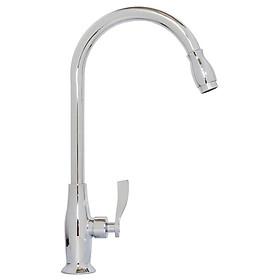 Vòi rửa chén lạnh Eurolife EL-T019 (Trắng bạc)