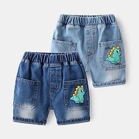 Quần short jean bé trai, quần bé trai