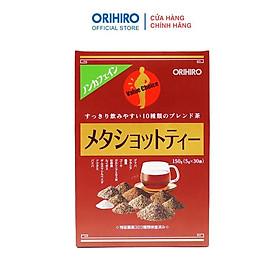Trà Meta Shot Tea Orihiro hỗ trợ thon gọn bụng 30 gói/hộp