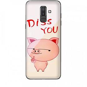 Ốp Lưng Samsung Galaxy J8 2018 Pig Cute