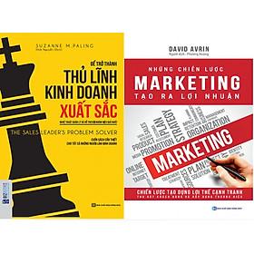 """Toàn tập về Tư duy kinh doanh và Chiến lược marketing để tạo ra lợi nhuận ( """"Để Trở Thành Thủ Lĩnh Kinh Doanh Xuất Sắc"""" + """"Những Chiến Lược Marketing Tạo Ra Lợi Nhuận"""")"""