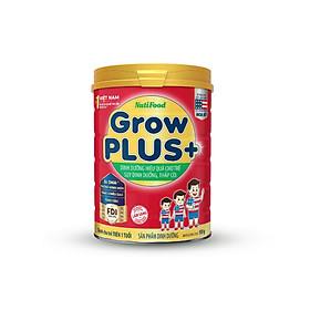 Sữa bột GrowPLUS+ Đỏ 900 Gr : sữa dành cho trẻ từ 1- 10 tuổi bị suy dinh dưỡng thấp còi (mẫu mới) của NutiFood