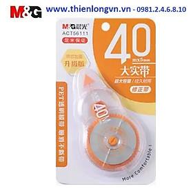 Xóa băng - Xóa kéo 40m M&G - ACT56111 màu cam
