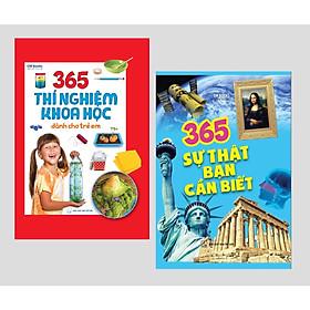 365 Thí Nghiệm Khoa Học Dành Cho Trẻ Em + 365 Sự Thật Bạn Cần Biết ( Bìa cứng )