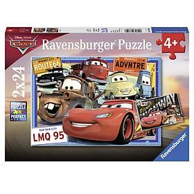 Xếp Hình Puzzle Vương Quốc Xe Hơi Ravensburger RV07819 6 (2 Bộ 24 Mảnh)