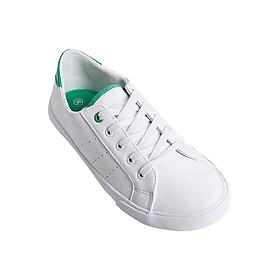 Giày Sneaker Nữ Buộc Dây Urban UL1701 - Trắng Xanh Lá