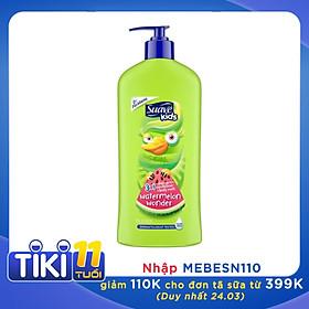 Sữa tắm gội xả Suave Kids 3 in 1 mùi Dưa hấu mẫu mới của Mỹ