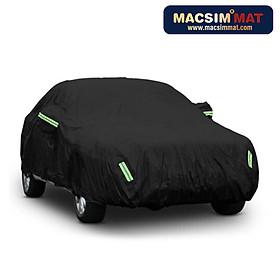 Bạt phủ ô tô thương hiệu MACSIM dành cho Mercedes-Benz A-Class Saloon / B-Class / C-Class - màu đen và màu ghi - bạt phủ trong nhà và ngoài trời