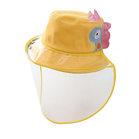 Anti Fog Fisherman Hat Against Liquid Dustproof Dismountable Caps Anti UV Sunhat