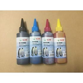 Bộ mực 4 màu cho máy Canon Pixma E500, E510, E560, E600, E610, E400, E410, E460