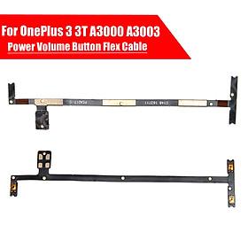 Power Volume Button Key Flex Cable Connectors Part For OnePlus 3 3T A3000 A3003