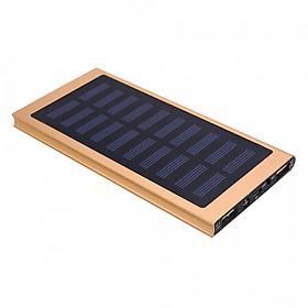 Pin Sạc Dự Phòng Năng Lượng Mặt Trời 2 Cổng USB (20000mAh)