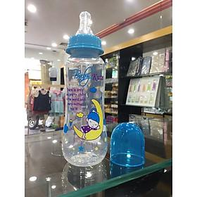Bình sữa bằng nhựa PP Baby Kute 250ML thân eo