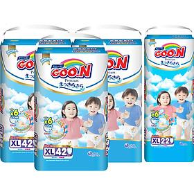 Combo 3 Gói Tã Quần Goo.n Premium Cực Đại XL42 (42 Miếng) - Tặng 1 Tã Quần Đại XL22 (22 Miếng)