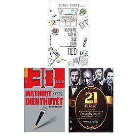 30 Giây Ma Thuật Trong Diễn Thuyết - 21 Bí Mật Của Những Nhà Diễn Thuyết Tài Ba Nhất Lịch Sử - Nguyên Tắc Thiết Kế Slide Chuẩn TED