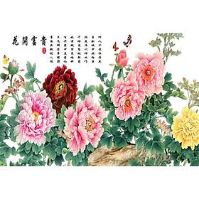 Tranh Treo Hoa Mẫu Đơn - MD033