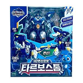 Đồ Chơi Mô Hình MINIFORCE Siêu Robot Khổng Lồ Tyranno -Phiên Bản Tarbo Cơn Lốc 304025
