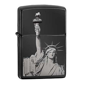 Bật Lửa Zippo 29437 Statue Of Liberty Ebony
