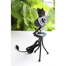 Camera Webcam W8S Full HD 1080P - Có Micro, Cổng Kết Nối USB Không Cần Cài Driver