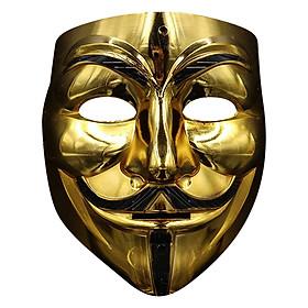 Mặt Nạ Vendetta Guy Fawkes Vàng/Bạc