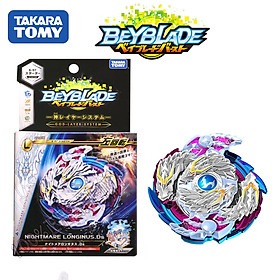 Beyblade Burst Booster B-97 Nightmare Longinus Ds Burst Bey Battle Top Set w/ Left Spin Launcher Children Gyro Toys