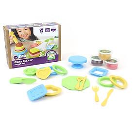Bộ đồ chơi bột nặn làm bánh Green Toys cho bé từ 2 tuổi