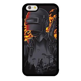 Ốp lưng dành cho Iphone 6s P.U.B Lửa - Hàng Chính Hãng