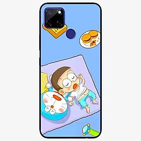 Ốp lưng dành cho Realme C12 mẫu Mèo Và Nô Ngủ