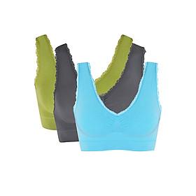 Combo 3 Áo Ngực Thể Thao Comfort Cotton Blend Sports Bra Viviane AN0617_C301 - Ngẫu Nhiên