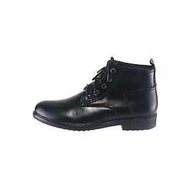 Giày Boot Da Bò Nam Full Black Viet Dream VD-GN0123