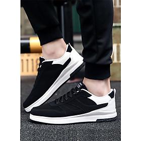 Giày thể thao phối trắng-đen Haint Boutique 141-2