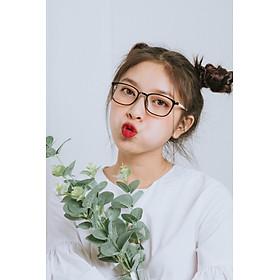 Gọng Kính Cận Nhựa Dẻo Ultem Hàn Quốc LOOK - Mắt Kính Thời Trang Nam Nữ LK93506