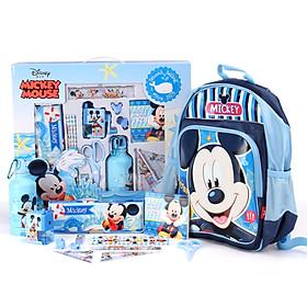 Hình đại diện sản phẩm Set Balo - Bình Nước - Dụng Cụ Học Tập Cho Bé Disney