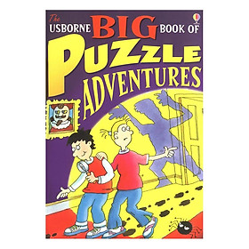 Sách tiếng Anh - Usborne Big Book of Puzzle Adventures, collection
