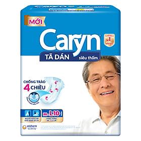 Tã Dán Siêu Thấm Caryn Gói Đại M-L10 (10 Miếng)
