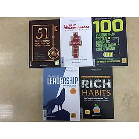 Combo 5 cuốn nhà lãnh dạo tài ba xuất sắc