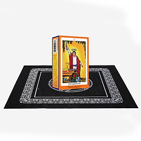 Combo Bộ Bài Tarot The Magician và Khăn Trải Bàn Tarot
